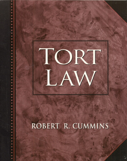 a review of the tort law Nora engstrom nora freeman engstrom's scholarship lies at the intersection of tort law and legal ethics professor engstrom is a professor of law and the associate dean for curriculum at stanford law school, where she is recognized as.