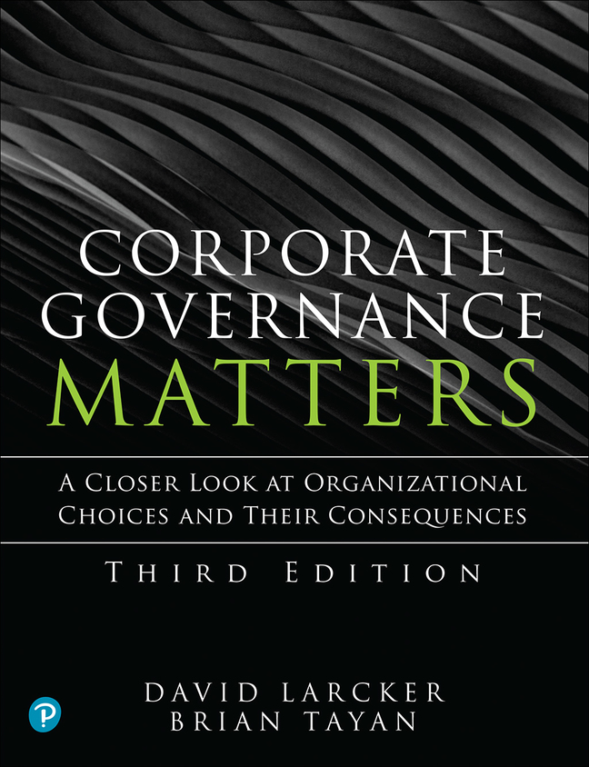 PowerPoint Slides for Corporate Governance Matters