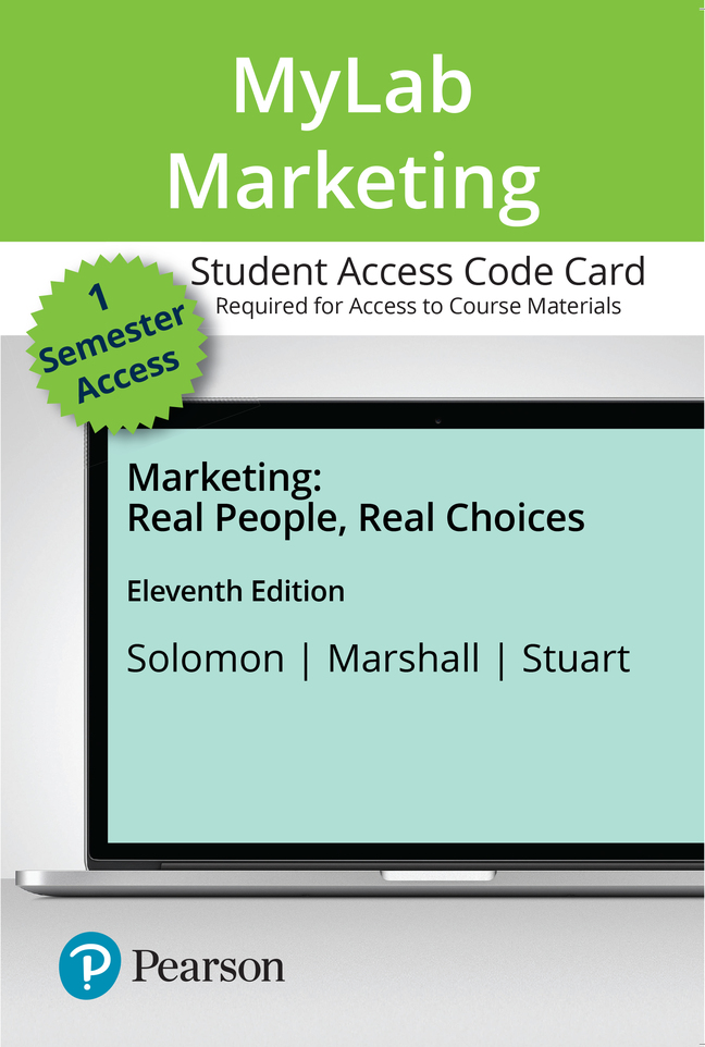 Marketing: Real People, Real Choices, 11th Edition