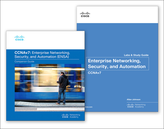 Enterprise Networking, Security, and Automation (CCNAv7) Companion Guide & Labs and Study Guide Value Pack