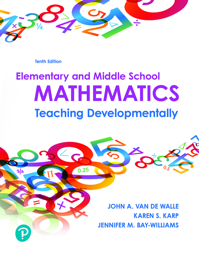 Pearson eText Elementary and Middle School Mathematics: Teaching Developmentally -- Instant Access
