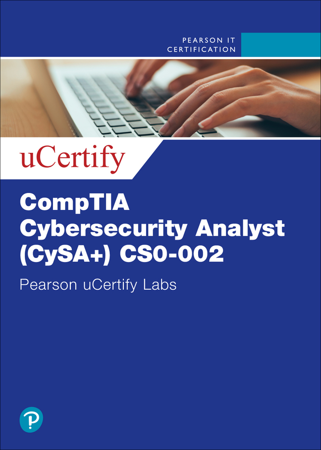 CompTIA Cybersecurity Analyst (CySA+) Cert Guide 2nd Ed (CS0-002) uCertify Labs Access Code Card