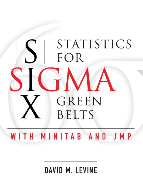 Statistics for Six Sigma Green Belts with Minitab and JMP (paperback)