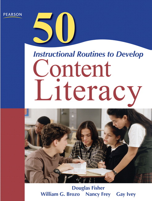 50 instructional routines to develop content literacy 3rd edition