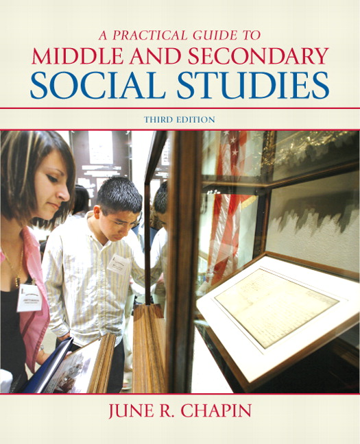 Chapin practical guide to middle and secondary social studies a book cover fandeluxe Image collections