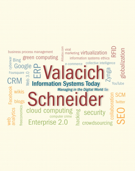 Valacich schneider information systems today pearson information systems today fandeluxe Choice Image