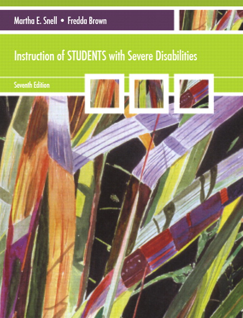 Instruction of Students with Severe Disabilities, 7th Edition