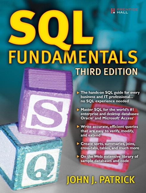 Patrick, SQL Fundamentals, 3rd Edition | Pearson