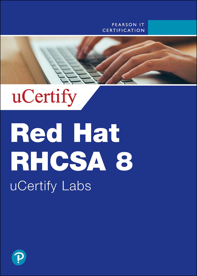 Red Hat RHCSA 8 (EX200) uCertify Labs Access Code Card
