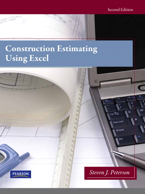Peterson, Construction Estimating Using Excel, 2nd Edition