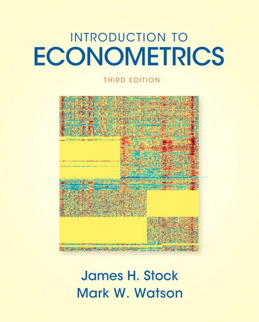Stock watson introduction to econometrics pearson introduction to econometrics fandeluxe Gallery