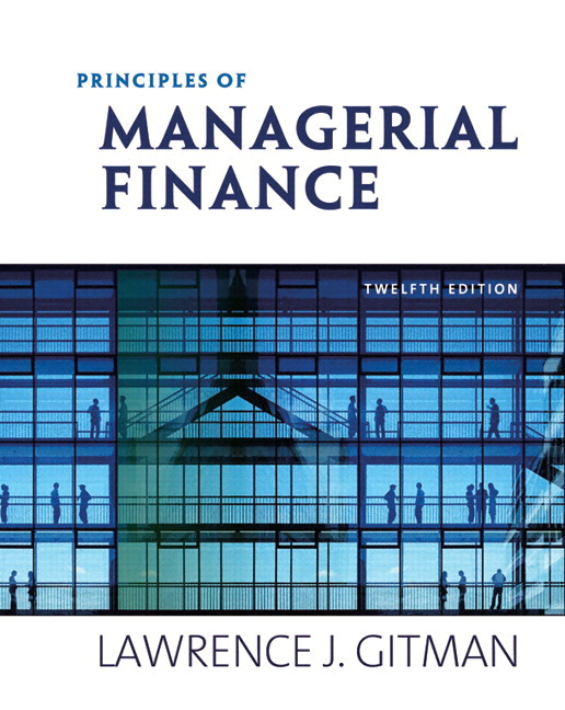 principles of managerial finance by gitman 11th edition objectives Principles of managerial finance gitman 13th editions  principles of corporate finance 11th edition  chapter 1 learning objectives introduction 1finance: an.