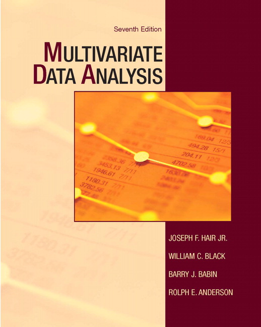 Multivariate Data Analysis, 7th Edition