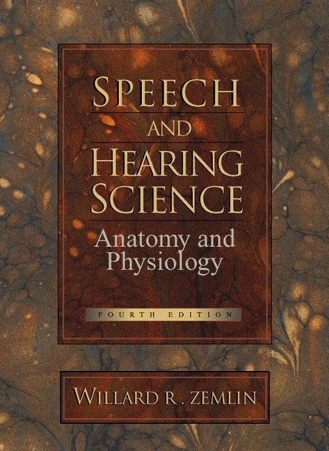 Zemlin & Zemlin, ZEMLIN:SPEECH HEARING SCIENCE _c4, 4th Edition ...