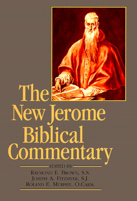 New Jerome Biblical Commentary, The (paperback reprint), 3rd Edition