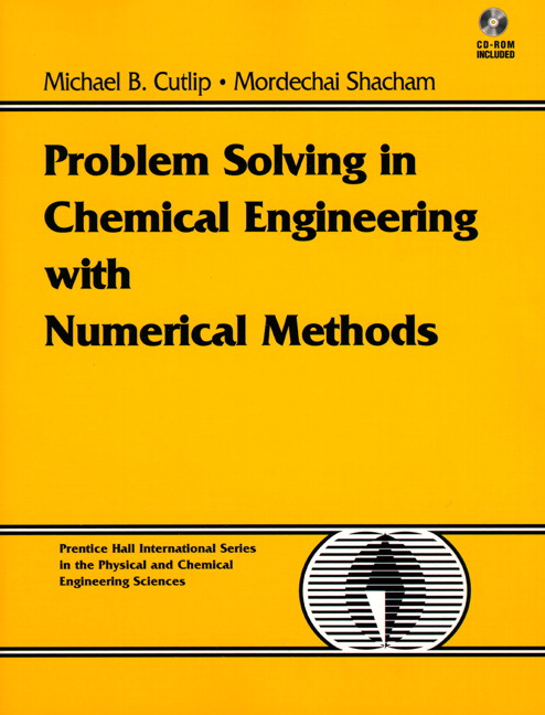 problem solving in chemical and biochemical engineering with polymath excel and matlab