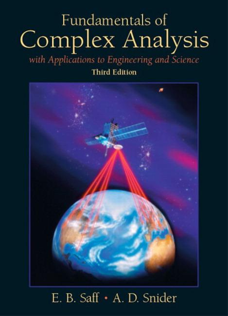 Fundamentals of complex analysis saff snider
