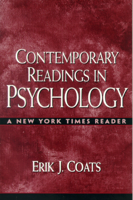 Contemporary Readings in Psychology: A New York Times Reader
