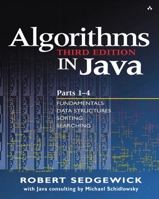 Algorithms in Java, Parts 1-4, 3rd Edition