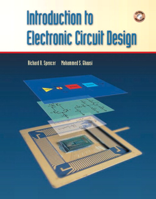 Spencer & Ghausi, Introduction to Electronic Circuit Design | Pearson