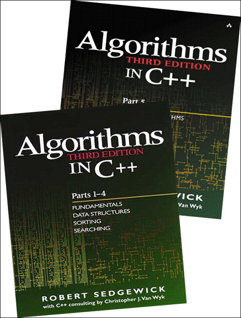 Bundle of Algorithms in C++, Parts 1-5: Fundamentals, Data Structures, Sorting, Searching, and Graph Algorithms, 3rd Edition