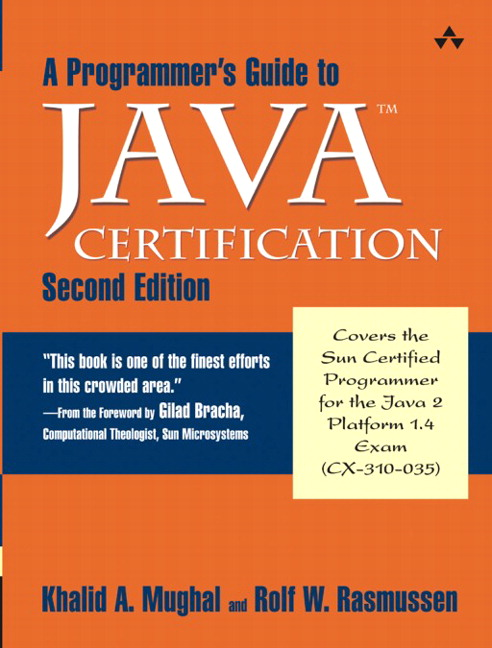 Mughal & Rasmussen, Programmer\'s Guide to Java SCJP Certification, A ...