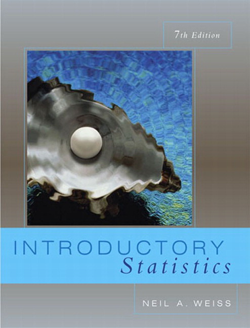 Weiss introductory statistics 8th edition pearson introductory statistics 7th edition weiss fandeluxe Images