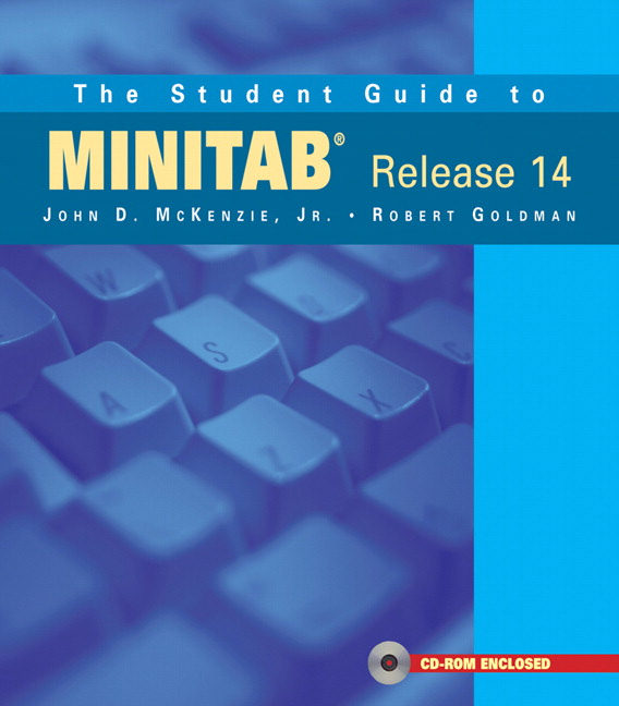 Student Guide to MINITAB Release 14 + MINITAB Student Release 14 Statistical Software (Book + CD), The