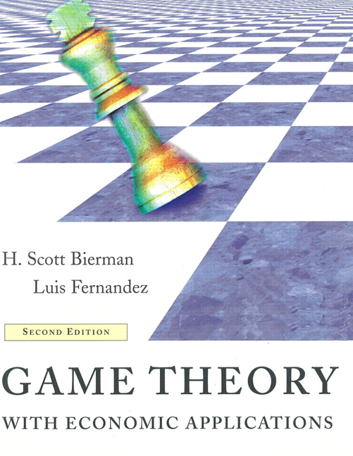 game theory in the economics of The journal of game theory publishes original research, survey papers and short notes in game theory and its applications providing rigorous analysis and significant.