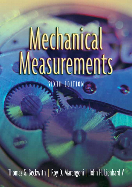 Mechanical Measurements, 6th Edition