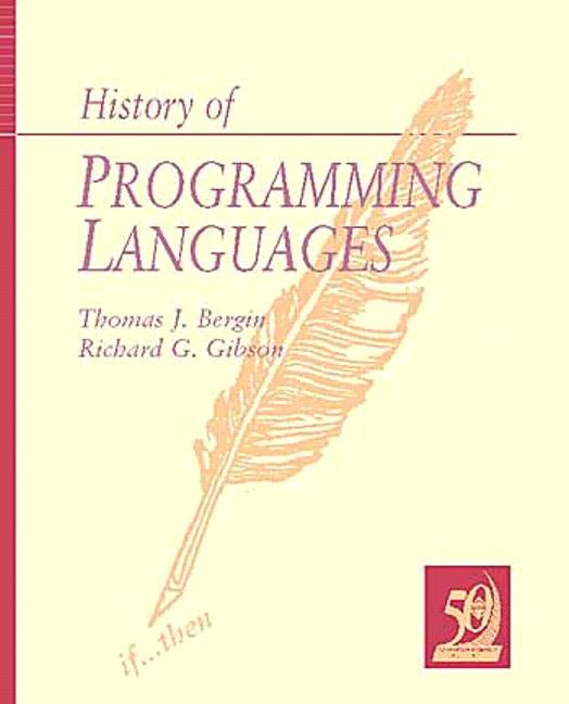 History of Programming Languages, Volume 2