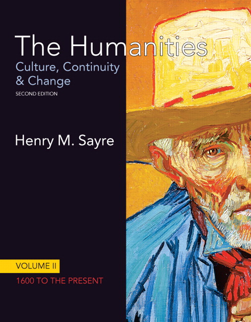 Sayre humanities culture continuity and change volume ii the humanities the culture continuity and change volume ii 1600 to the present 2nd edition fandeluxe Images
