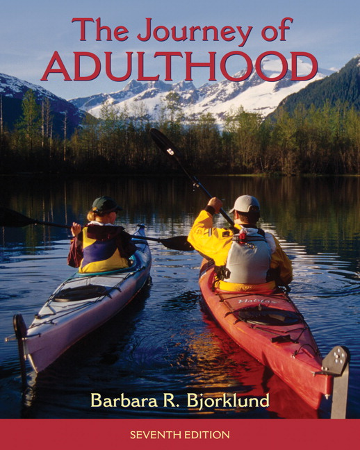 a journey to adulthood Encuentra the journey of adulthood de helen bee, barbara r bjorklund (isbn: 9780130109538) en amazon envíos gratis a partir de 19.