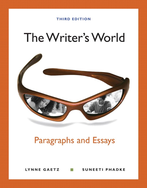 writer's world paragraphs and essays pdf
