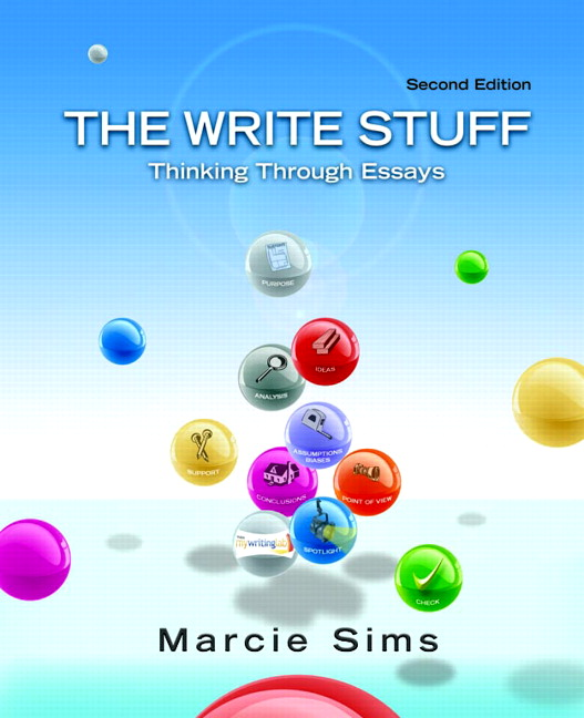 the write stuff thinking through essays 2nd edition answers