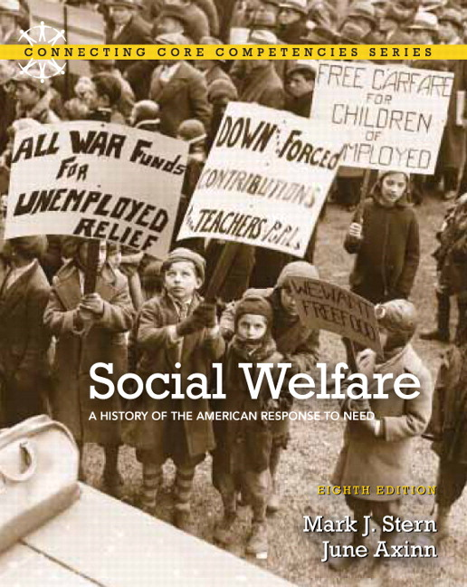 historical development of social welfare in america