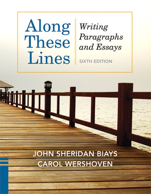 along these lines writing paragraphs essays 5th edition answers Along these lines 5th edition full online - maggiebrowncouk  pearson - along these lines: writing paragraphs and essays along these lines: writing paragraphs and essays, fourth canadian edition plus new mycanadianwritinglab with pearson etext -- access card package, 4/e.