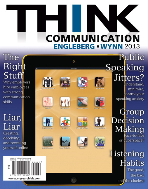 Engleberg wynn think communication 3rd edition pearson think communication 2nd edition fandeluxe Gallery