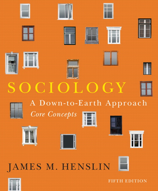 Henslin sociology a down to earth approach core concepts 6th book cover fandeluxe Gallery