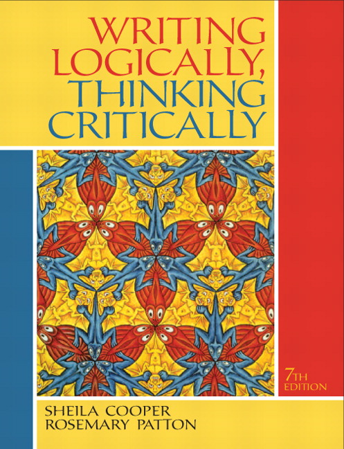 Cooper patton writing logically thinking critically pearson writing logically thinking critically fandeluxe Gallery