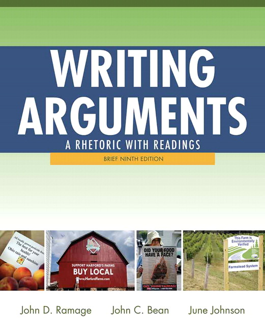 writing arguments a rhetoric with readings With its student-friendly tone, clear explanations, high-interest readings and examples, and well-sequenced critical thinking and writing assignments, writing arguments offers a time-tested approach to argument that is interesting and accessible to students and eminently teachable for instructors.