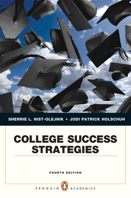 nist olejnik holschuh college success strategies pearson
