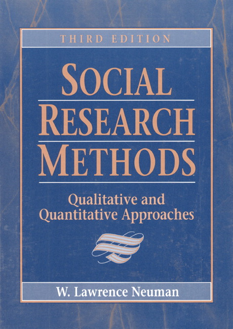 SOCIAL RESEARCH METHODS: QUALITATV&QUANTITV, 3rd Edition