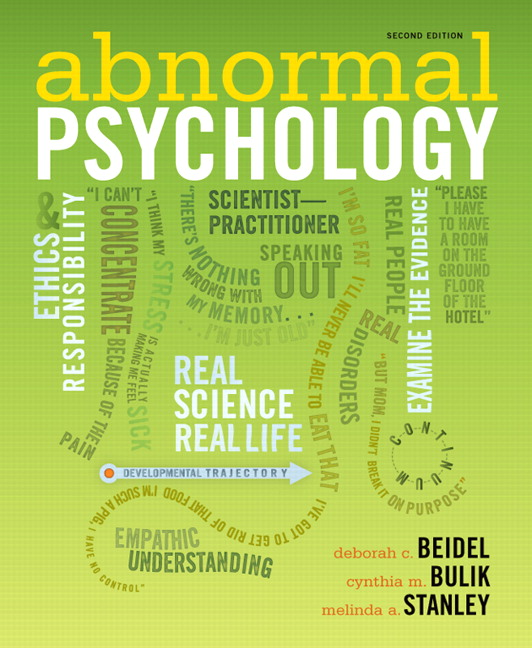 beidel bulik stanley abnormal psychology abnormal psychology