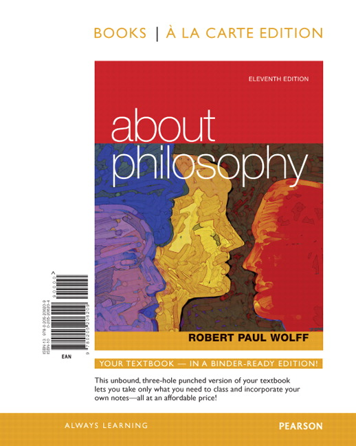Wolff about philosophy 11th edition pearson about philosophy books a la carte edition 11th edition fandeluxe Images