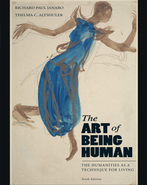 janaro altshuler art of being human the the humanities as a