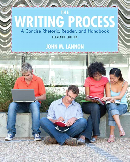 Lannon writing process the pearson writing process the 11th edition fandeluxe Images