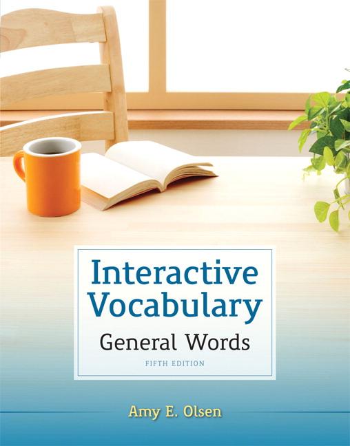 Olsen Interactive Vocabulary