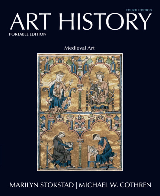 History Of Art Book Cover : Stokstad cothren art history portable book medieval