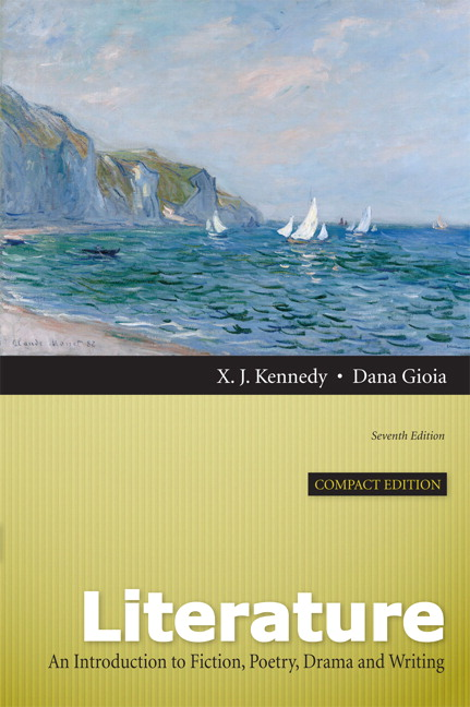 Kennedy Gioia Literature An Introduction To Fiction Poetry